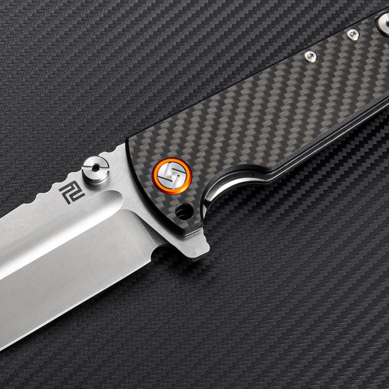 Artisan Cutlery Proponent ATZ-1820P D2 Blade Carbon Fiber Handle Folding Knives